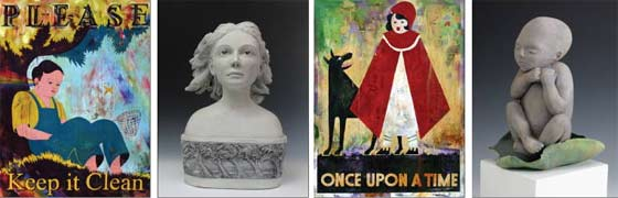 Once Upon A Time @ The Laffer Gallery