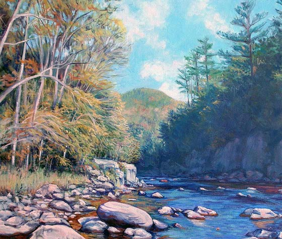 Gerard Natale: Into The Gorge @ Southern Vermont  Arts Center
