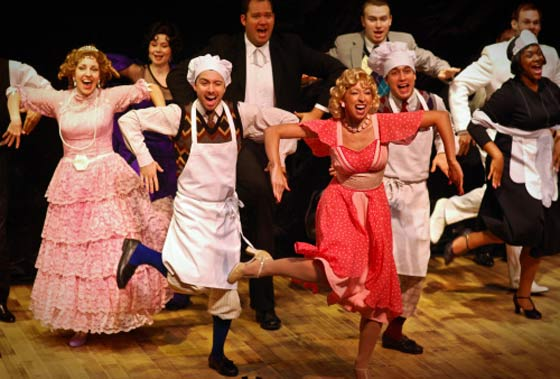 The Drowsy Chaperone from 2011 at the Theater Barn in New Lebanon, NY..