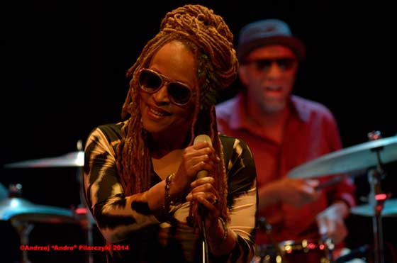 Cassandra Wilson and JT Lewis