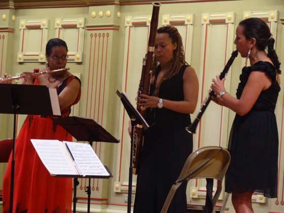 Valerie Coleman, Monica Ellis, and Mariam Adam