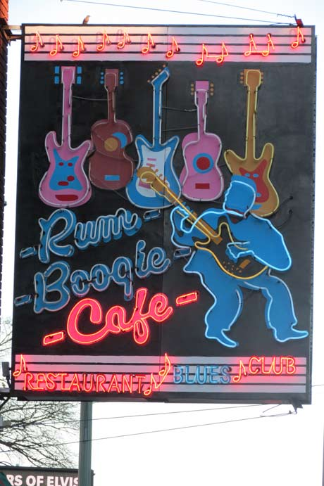 The Rum Boogie Cafe