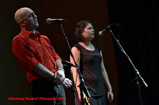Tim Eriksen and Zoe Darrow