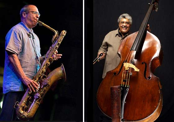 (left) Gary Smulyan and (right) Rufus Reid