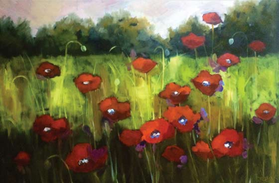 Lori Eubanks: Poppy Field @ Sorelle Gallery