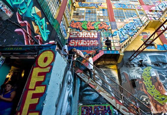Jeffrey Altman: Graffiti Courtyard @ The Photography Center of the Capital District