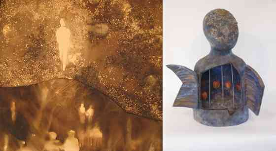 Frank Giorgini: Apparition and Leslie Greist Yolen: Untitled (Bust @ GCCA Gallery