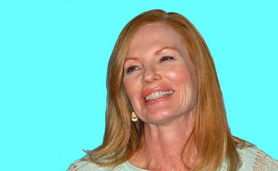 Marg Helgenberger (photo:  Larry Murray)