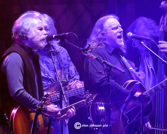 Bob Weir and  Warren Haynes
