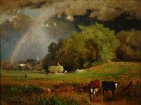 George Inness: The Rainbow @ The Arkell Museum