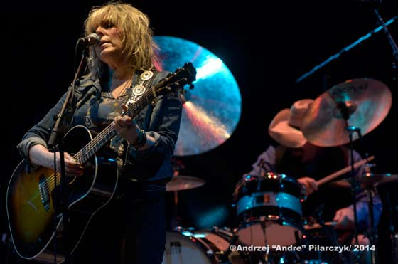 Lucinda Williams and Butch Norton