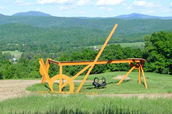Mark di Suvero: For Euler, 1997