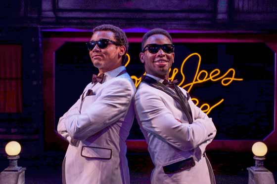 Actors Benjamin Mapp and Christopher Brasfield make their Capital Repertory Theatre debuts in the toe-tapping
