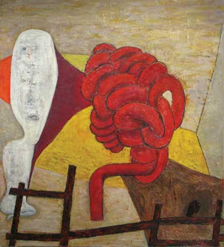 Brenda Goodman: Knot @ John Davis Gallery