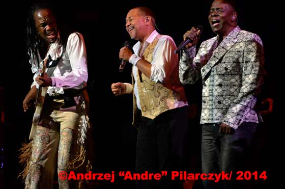 Earth, Wind & Fire (photo by Andrzej Pilarczyk)