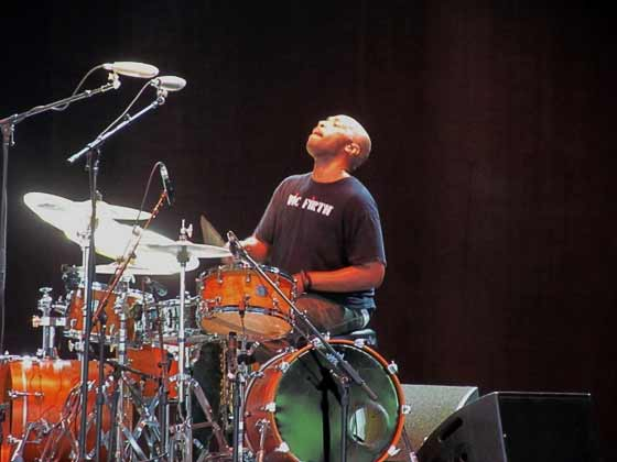 Eric Harland (photo by Richard Brody)