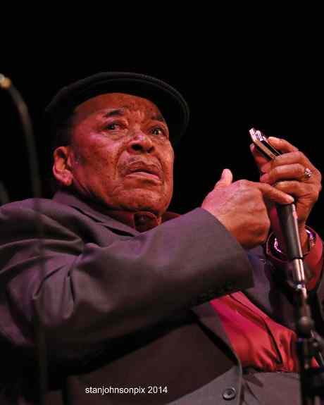 James Cotton (photo by Stanley Johnson)
