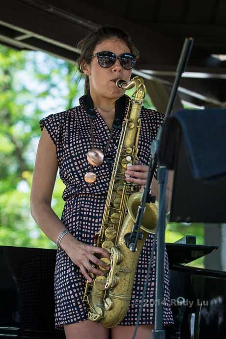 Melissa Aldana (photo by Rudy Lu)