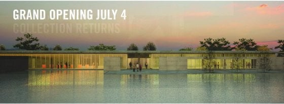 The Clark reopens on July 4.