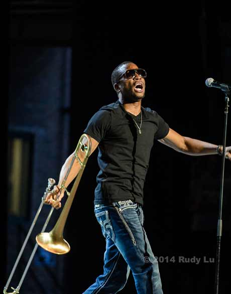 Trombone Shorty (photo by Rudy Lu)