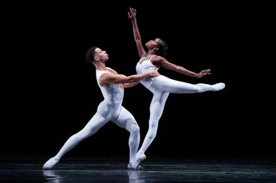Taurean Green and Ingrid Silva of Dance Theatre of Harlem (photo: Rachel Neville)