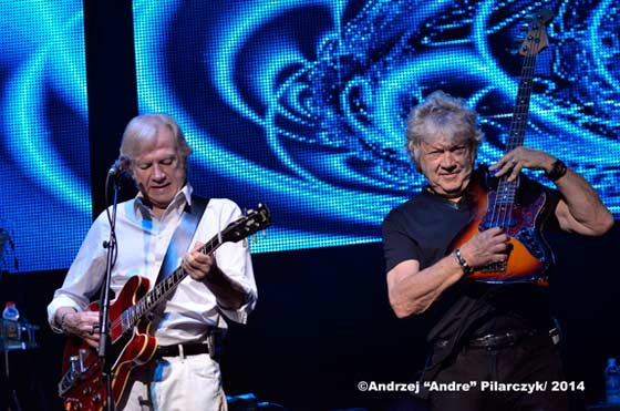 Justin Hayward  and John Lodge