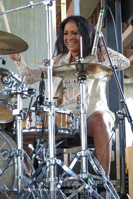 Sheila E.  (photo by Stanley Johnson)