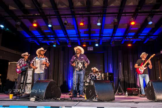 Jeffrey Broussard & The Creole Cowboys (photo by Rudy Lu)