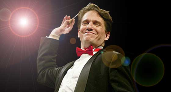 Keith Lockhart and the Boston Pops return for the last time this season for an evening with Josh Groban.