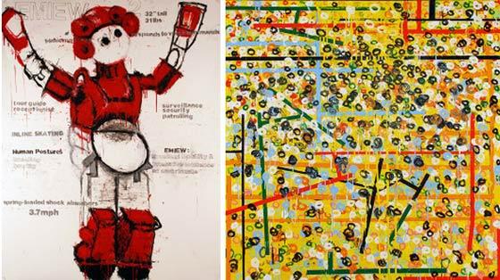 Sara Farrell Okamura: Humanoid and Hideyo Okamura: Probably @ MCLA Gallery 51