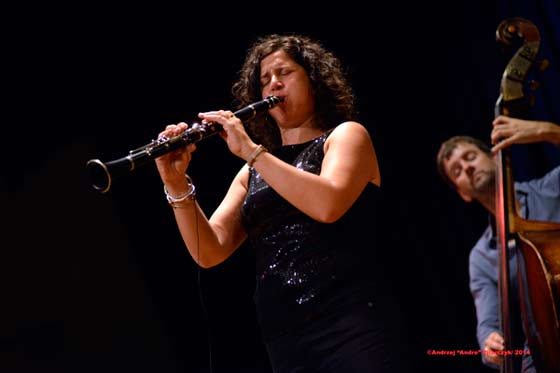 Anat Cohen Quartet (photo by Andrzej Pilarczyk)