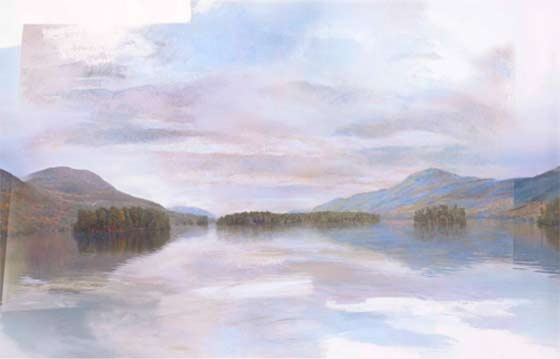 Anne Diggory: Floating (Lake George) @ The Hyde Collection