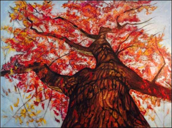 Paintings by Nancy Ghitman @ 510 Warren Street Gallery