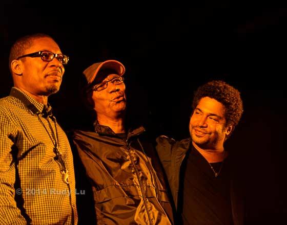 Jack DeJohnette Trio (photo: Rudy Lu)