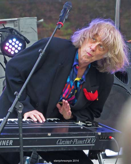 Terry Adams of NRBQ (photo by Stanley Johnson)