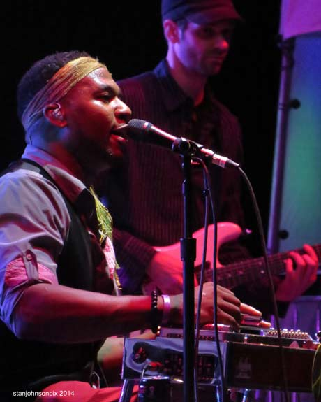 Robert Randolph & The Family Band (photo by Stanley Johnson)