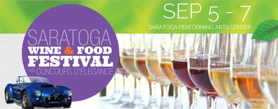 The Saratoga Wine and Food Festival