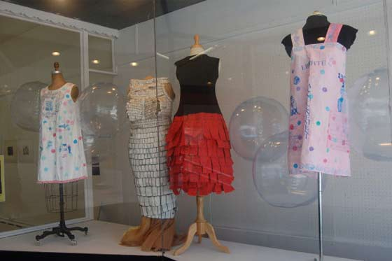 Paper Dresses @ PRESS Gallery