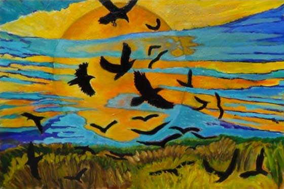 Matthew Zappala: Evening Above the Wheatfield @ GCCA Catskill Gallery