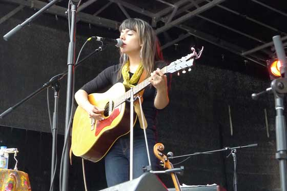 Alynda Lee Segarra of Hurray for the Riff Raff (photo by Kirsten Ferguson)