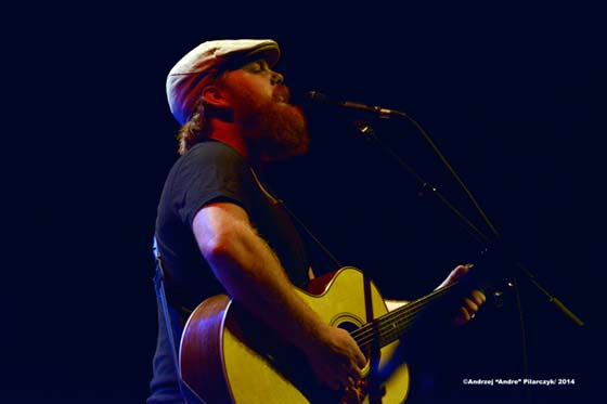 Marc Broussard delivering a soulful vocal