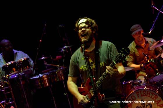 Mongo Fishtrap's front man Roger Blevins, Jr.