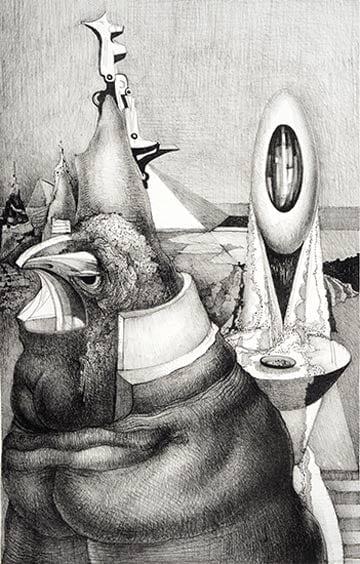 Works by Theodore Roszak @ John Davis Gallery
