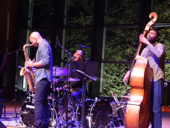 Walter Smith III, Eric Harland and Harish Raghavan