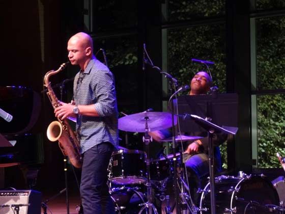 Walter Smith III and Eric Harland