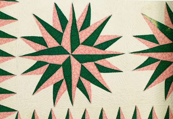 Undercover: Revealing Design in Quilts, Coverlets and Bed Hangings @ Albany Institute of History and Art