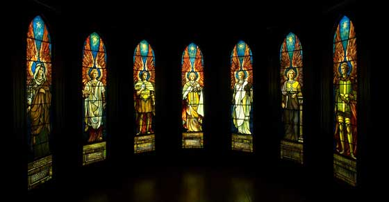 Works by Louis Comfort Tiffany @ Munson-Williams-Proctor Arts Institute