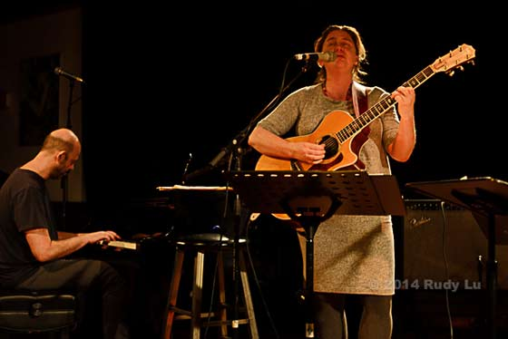 Guillermo Klein and Rebecca Martin