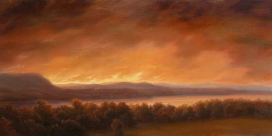 Jane Bloodgood-Adams: The Roiling Sky