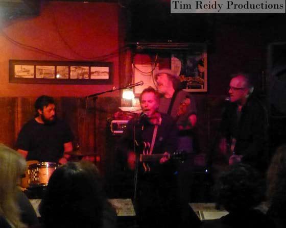 Pete Labonne with The Catbirds